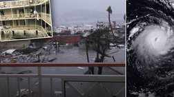 Εικόνες βιβλικής καταστροφής αφήνει στο περασμά της η Ίρμα