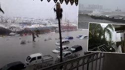 Σάρωσε τα πάντα στο πέρασμά του ο τυφώνας «Ίρμα», δέκα νεκροί