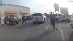 Μια δραπέτης Χουντίνι: Λύθηκε και το έσκασε με το περιπολικό