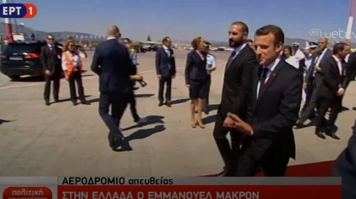 """Στο Μαξίμου ο Μακρόν: """"Τρομακτικές οι προσπάθειες των Ελλήνων"""" - εικόνα 15"""