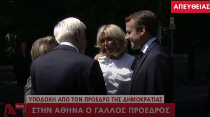 """Στο Μαξίμου ο Μακρόν: """"Τρομακτικές οι προσπάθειες των Ελλήνων"""" - εικόνα 12"""