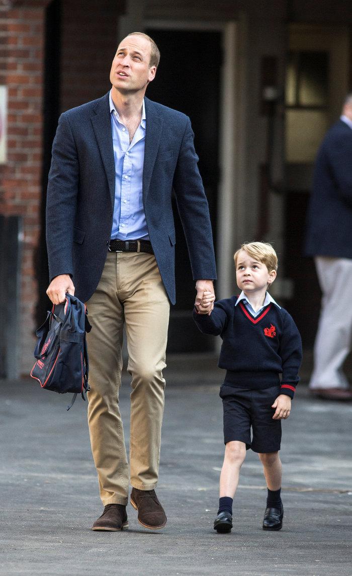 Πρώτη μέρα στο ανατρεπτικό σχολείο της ελίτ για τον πρίγκιπα Τζορτζ