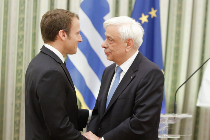 """Στο Μαξίμου ο Μακρόν: """"Τρομακτικές οι προσπάθειες των Ελλήνων"""" - εικόνα 10"""