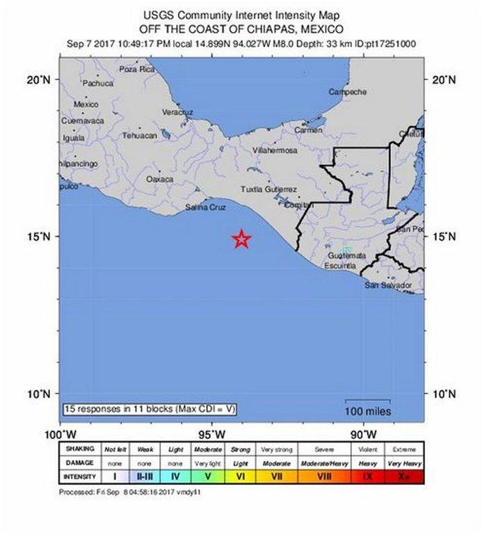 Σεισμός 8 Ρίχτερ στο Μεξικό - Nεκροί τουλάχιστον 58  άνθρωποι και τσουνάμι - εικόνα 8
