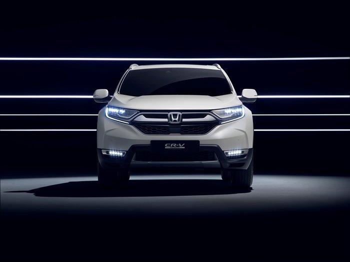 Το Honda CR-V Hybrid Prototype στην έκθεση της Φρανκφούρτης