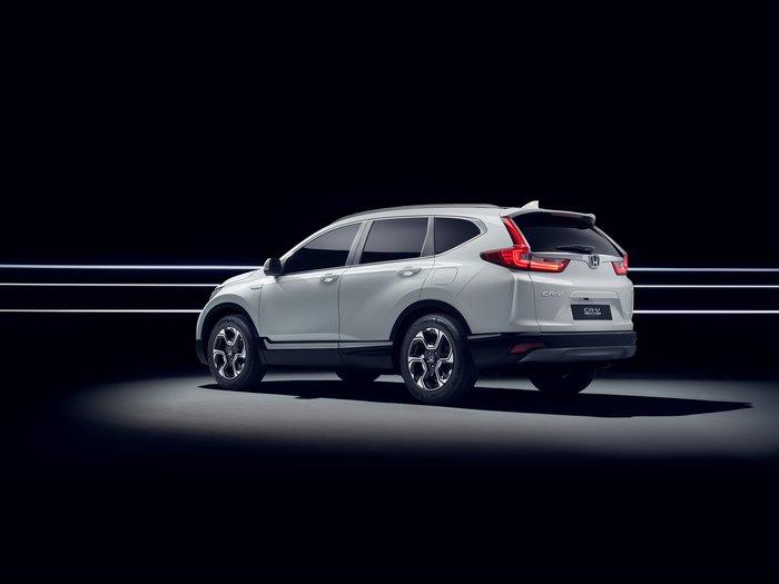 Το Honda CR-V Hybrid Prototype στην έκθεση της Φρανκφούρτης - εικόνα 3