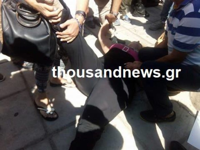 Επεισόδια στη Θεσσαλονίκη, πορείες και λιποθυμίες
