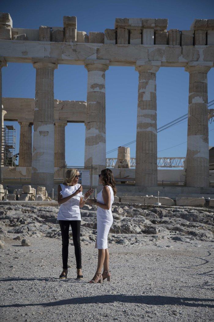 Η Μπριζίτ Μακρόν μαγεύτηκε από την Αθήνα – Ολες οι εμφανίσεις της - εικόνα 8