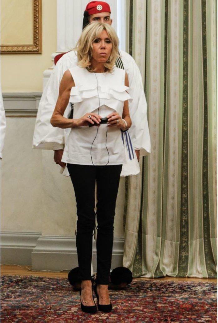Η Μπριζίτ Μακρόν μαγεύτηκε από την Αθήνα – Ολες οι εμφανίσεις της - εικόνα 3