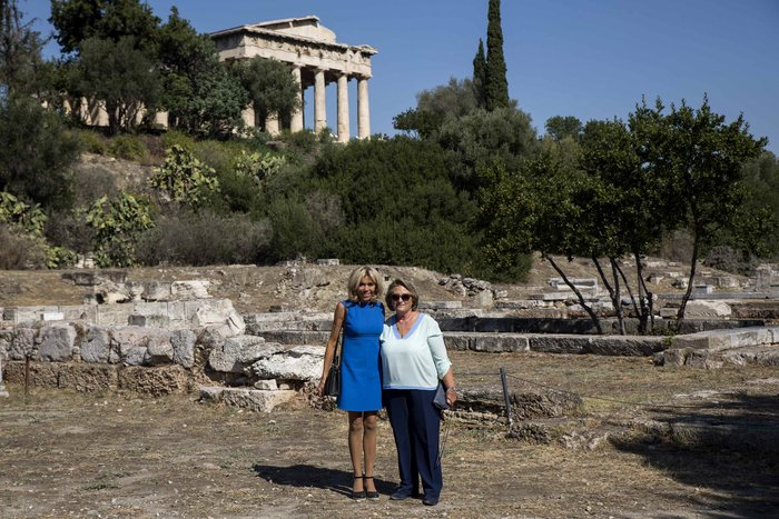 Η Μπριζίτ Μακρόν μαγεύτηκε από την Αθήνα – Ολες οι εμφανίσεις της - εικόνα 22