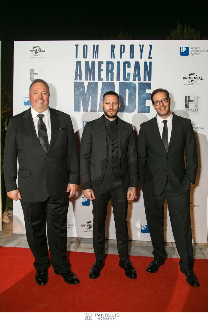 Επίσημη πρεμιέρα για την ταινία «American Made» του Πάρι Κασιδόκωστα-Λάτση