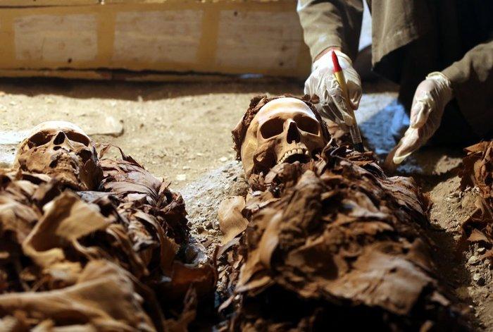 Μόλις ανακαλύφθηκε νέος φαραωνικός τάφος του 1000π.Χ. - εικόνα 2