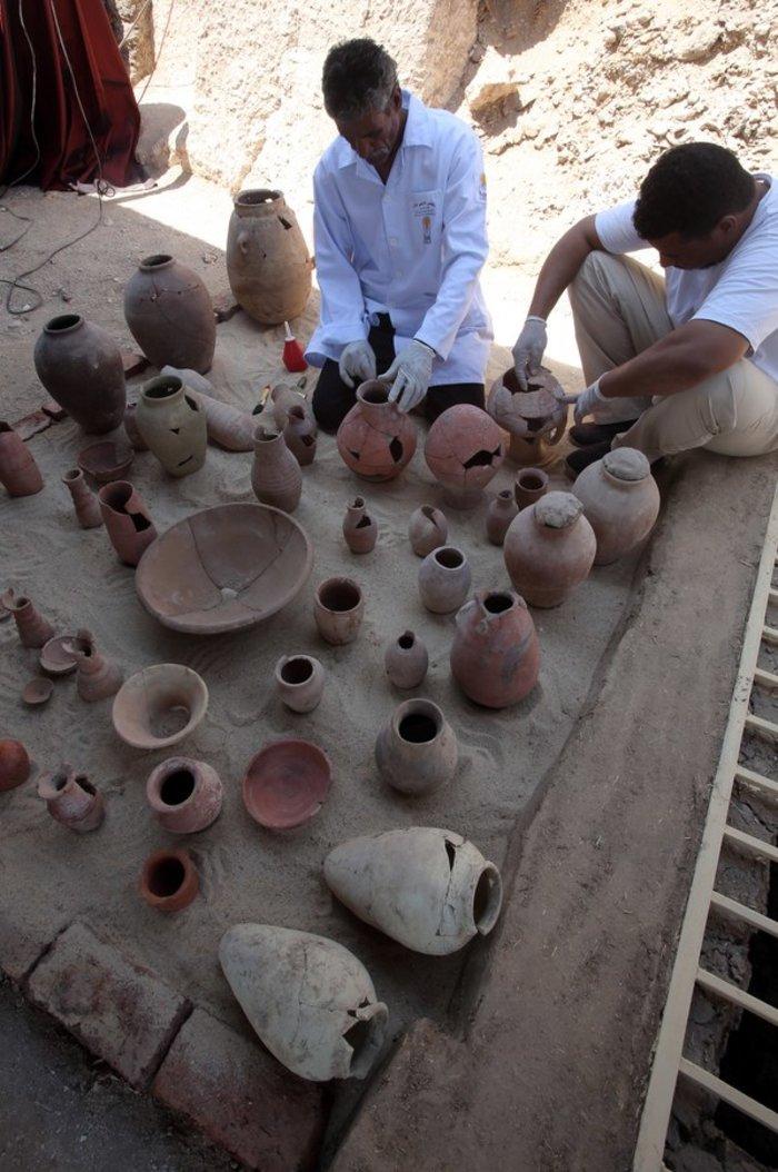 Μόλις ανακαλύφθηκε νέος φαραωνικός τάφος του 1000π.Χ. - εικόνα 3