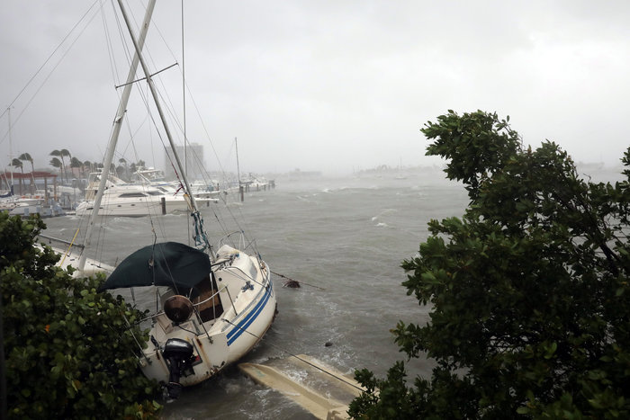 Η Ιρμα στη Φλόριντα: Τι κατέγραψε ο φακός του Reuters - εικόνα 4