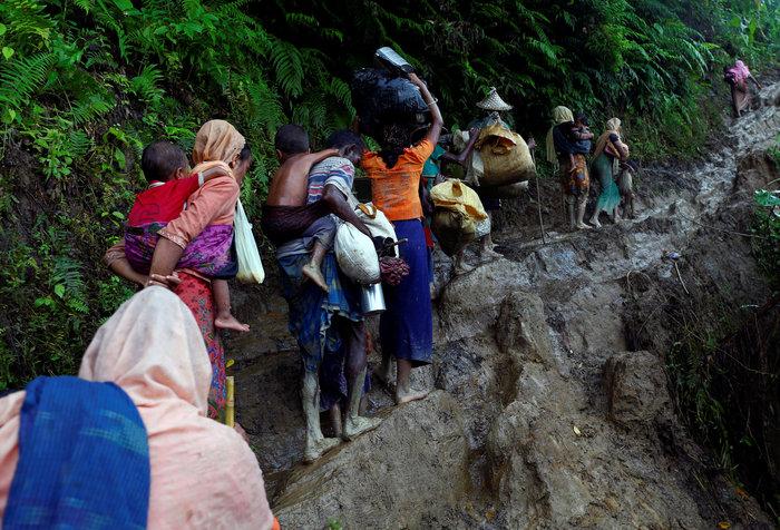 Η εθνοκάθαρση των Ροχίνγκια: Γολγοθάς σε θάλασσα και στεριά - εικόνα 6