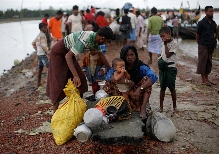 Η εθνοκάθαρση των Ροχίνγκια: Γολγοθάς σε θάλασσα και στεριά - εικόνα 8