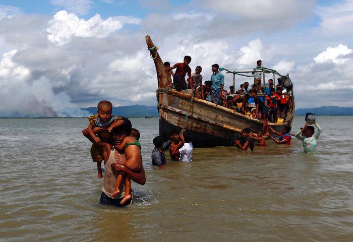 Η εθνοκάθαρση των Ροχίνγκια: Γολγοθάς σε θάλασσα και στεριά - εικόνα 11