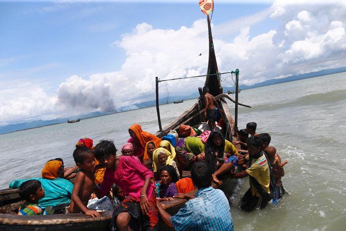 Η εθνοκάθαρση των Ροχίνγκια: Γολγοθάς σε θάλασσα και στεριά - εικόνα 12