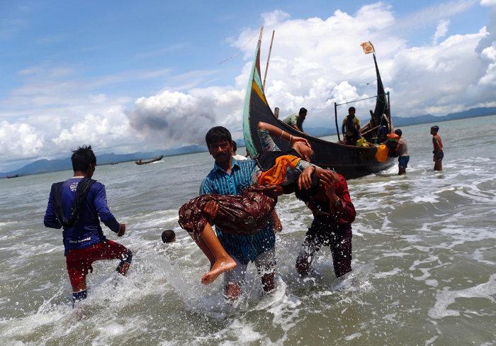 Η εθνοκάθαρση των Ροχίνγκια: Γολγοθάς σε θάλασσα και στεριά - εικόνα 13