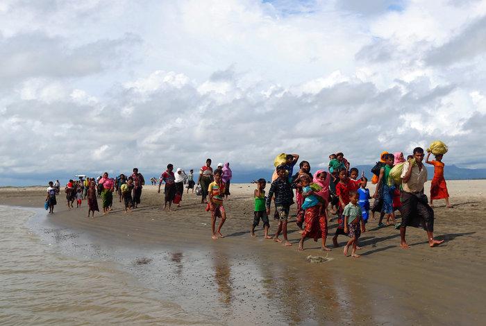 Η εθνοκάθαρση των Ροχίνγκια: Γολγοθάς σε θάλασσα και στεριά - εικόνα 14