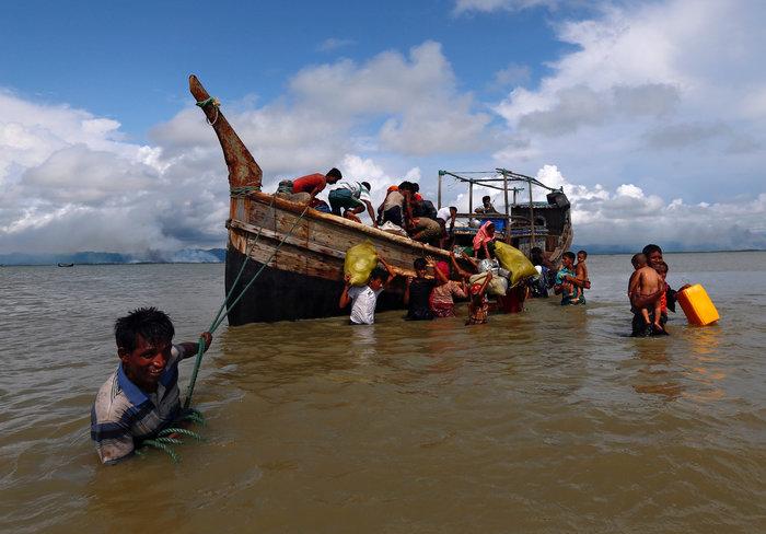 Η εθνοκάθαρση των Ροχίνγκια: Γολγοθάς σε θάλασσα και στεριά - εικόνα 15