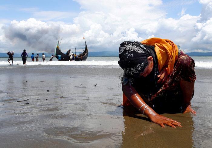 Η εθνοκάθαρση των Ροχίνγκια: Γολγοθάς σε θάλασσα και στεριά - εικόνα 16