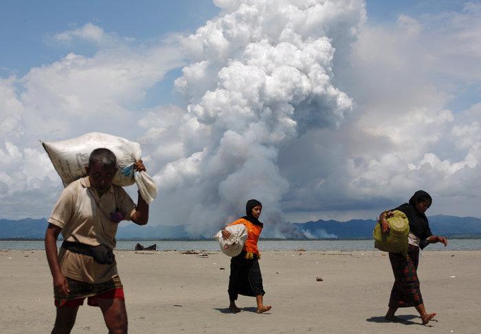 Η εθνοκάθαρση των Ροχίνγκια: Γολγοθάς σε θάλασσα και στεριά - εικόνα 17