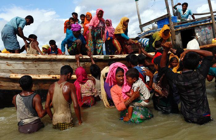 Η εθνοκάθαρση των Ροχίνγκια: Γολγοθάς σε θάλασσα και στεριά - εικόνα 18