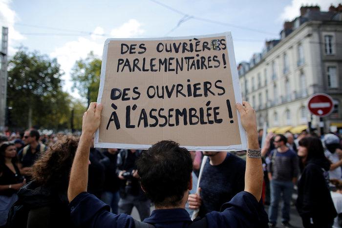 Ενταση στο Παρίσι κατά τη διάρκεια διαδήλωσης για τα εργασιακά - εικόνα 2