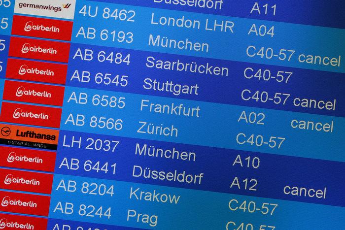"""Πάνω από 200 πιλότοι της Air Berlin """"αρρώστησαν"""" περιέργως"""