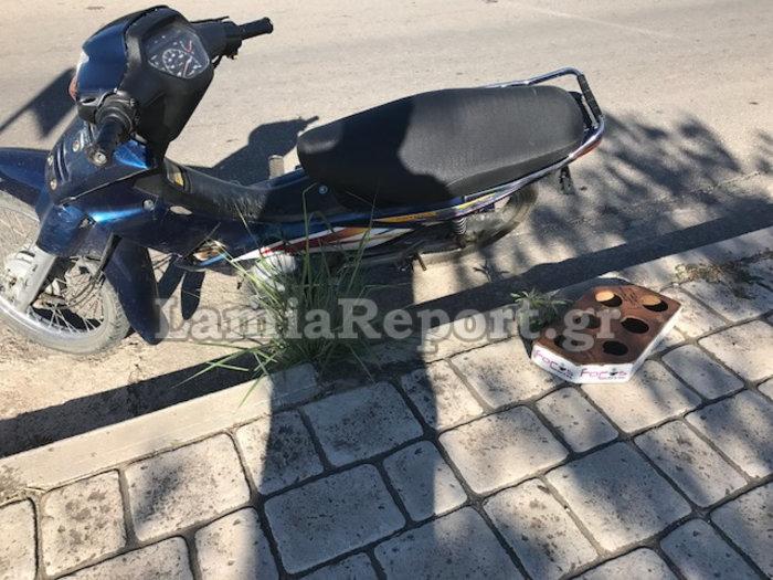 Τραυματίστηκε ντελιβεράς εν ώρα εργασίας στη Λαμία (ΦΩΤΟ) - εικόνα 2