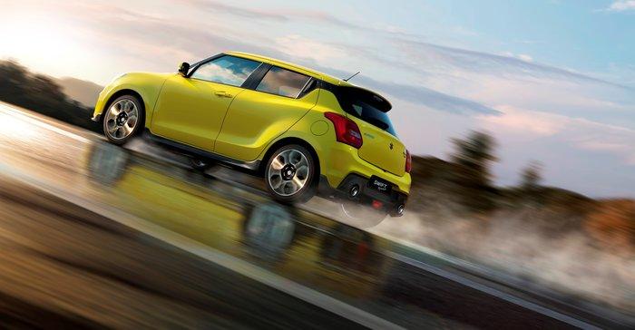 Αυτό είναι το ολοκαίνουργιο Suzuki Swift Sport