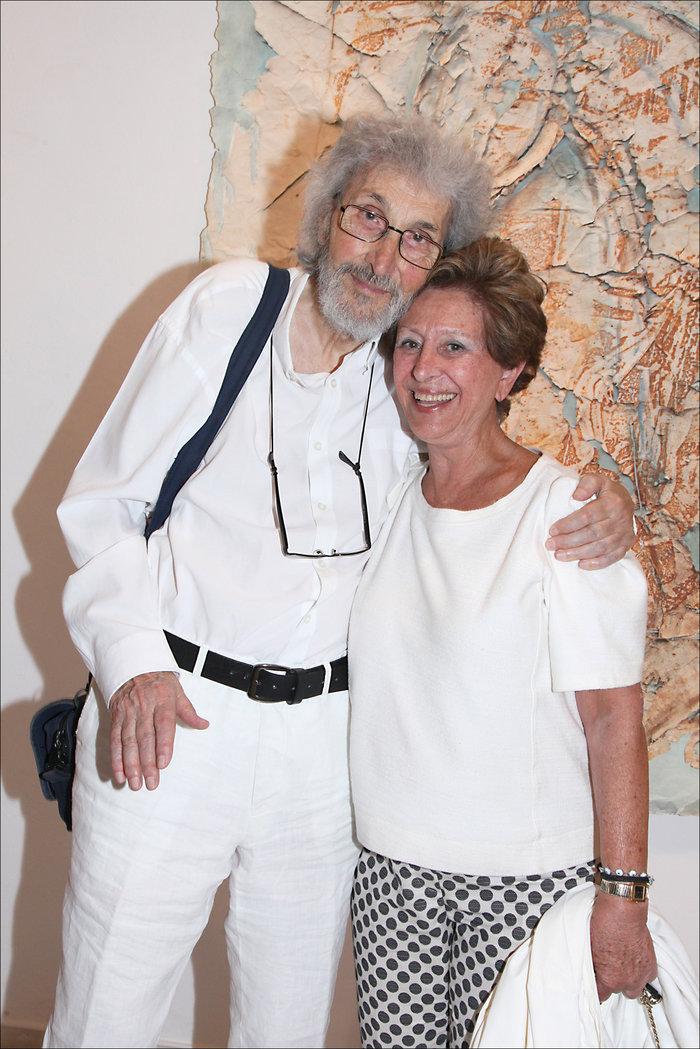. Ο ζωγράφος Σωτήρης Σόρογκας και η Μαρίνα Θεοχαράκη