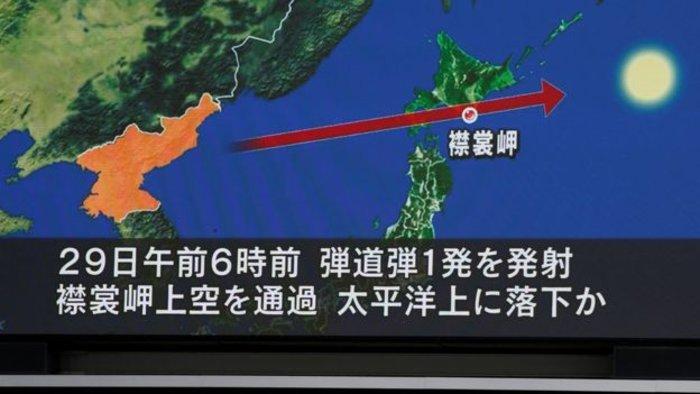 Νέα εκτόξευση πυραύλου από τον Κιμ πάνω από την Ιαπωνία