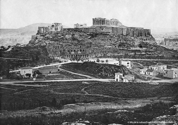 Η Ακρόπολη από το ανατολικό άκρο της Πνύκας