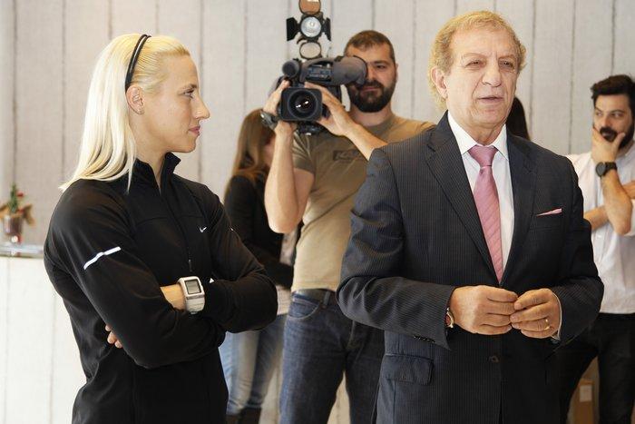 Η πρωταθλήτρια στο Αλμα επί κοντώ, Νικόλ Κυριακοπούλου στο ΙΕΚ ΑΛΦΑ