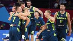 """Ποιά Ισπανία, ποιοί Γκασόλ; Τους """"πάτησε"""" η Σλοβενία με 92-72"""