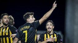 Χάρη στη νίκη της ΑΕΚ η Ελλάδα είναι μόνη στη 12η θέση