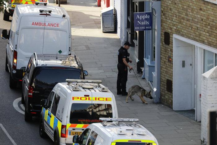 Καρέ καρέ η τρομοκρατική επίθεση στο μετρό του Λονδίνου - εικόνα 12