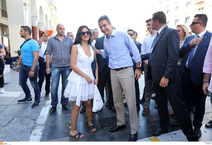 Η ωραία στιγμή της ημέρας για τον Κυριάκο στη Θεσσαλονίκη - εικόνα 2
