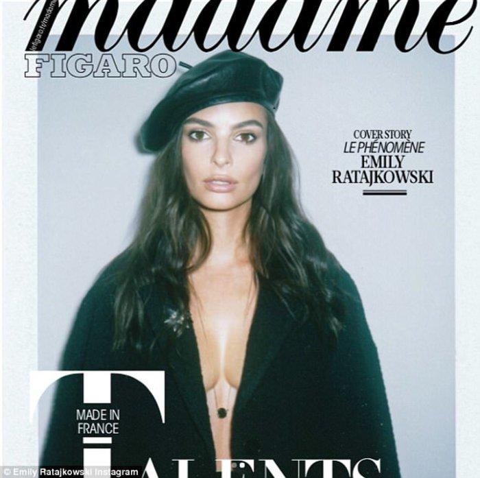 Περιοδικό... μίκρυνε τα χείλη και το στήθος της Εμιλι Ραταϊκόφσκι! - εικόνα 3