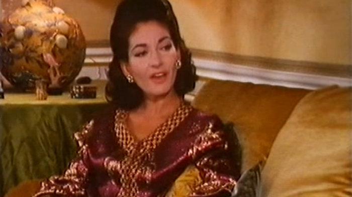 Από συνέντευξή της το 1968 στον Lord Harewood (Παρίσι)