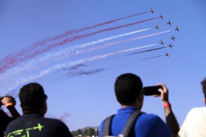 Athens Flying Week: Φοβεροί ελιγμοί, αερομαχίες & ακροβατικά - εικόνα 12