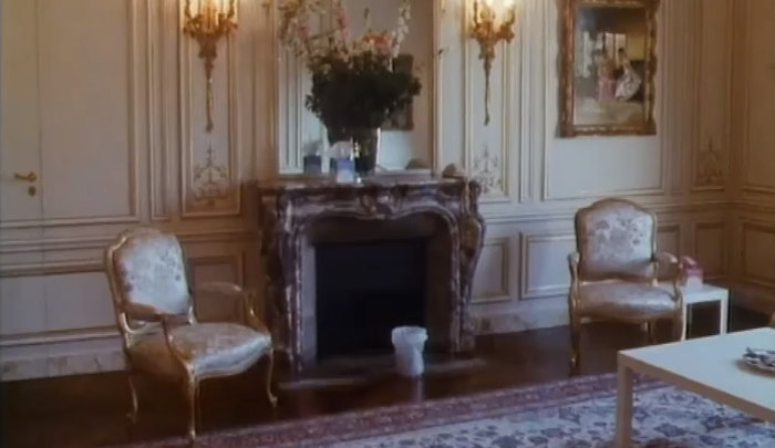 Το σπίτι της στο Παρίσι