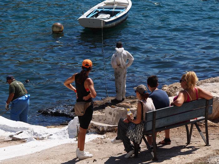 Διαμαρτυρία πολιτών για τη μόλυνση των ακτών της Πειραϊκής - εικόνα 3