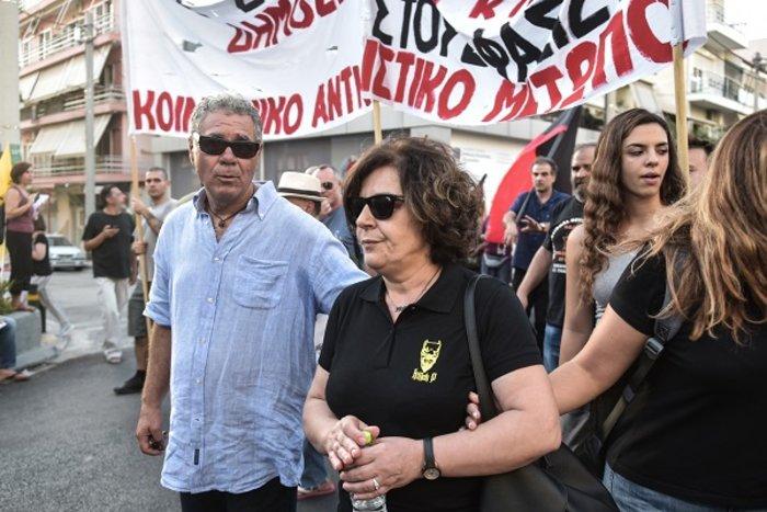 Επεισόδια στην πορεία για τα 4 χρόνια από τη δολοφονία Φύσσα [φωτό] - εικόνα 5