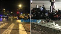 Τραγικό τροχαίο με τρεις νεκρούς στο κέντρο της Θεσσαλονίκης