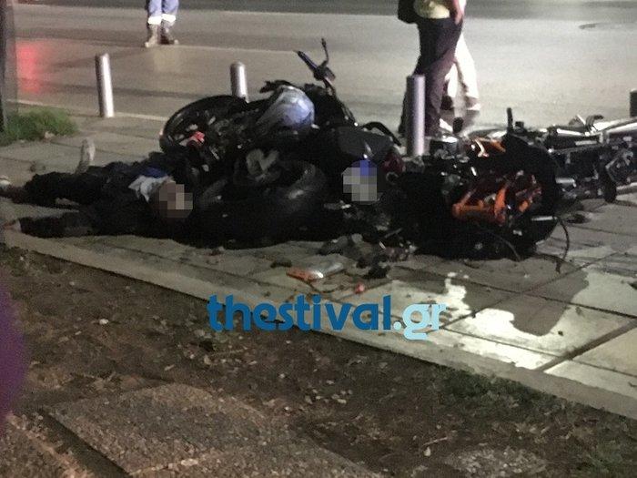 Τραγικό τροχαίο με τρεις νεκρούς στο κέντρο της Θεσσαλονίκης - εικόνα 3