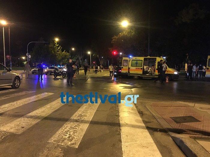 Τραγικό τροχαίο με τρεις νεκρούς στο κέντρο της Θεσσαλονίκης - εικόνα 5