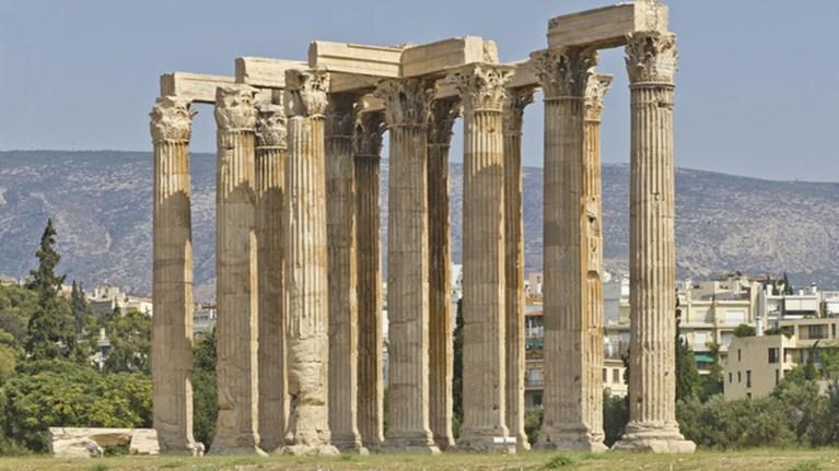Αρχίζει η αποκατάσταση στο ναό του Ολυμπίου Διος